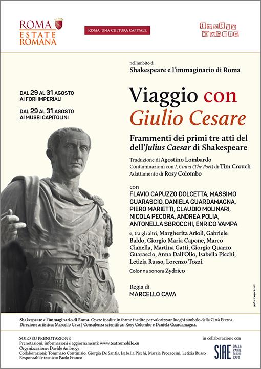 Viaggio con Giulio Cesare